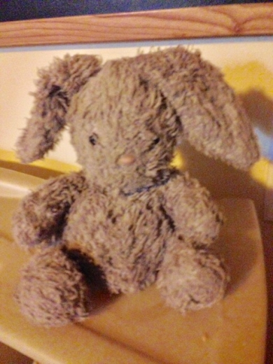 grey floppy bunny by Jellycat