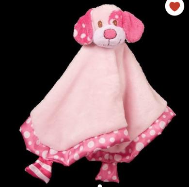 Douglas lil snuggler pink puppy
