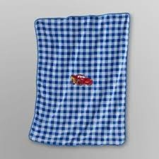 Disney cars baby blanket