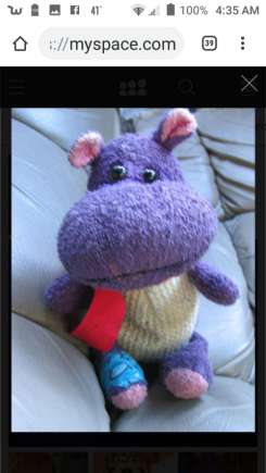 Purple hippo