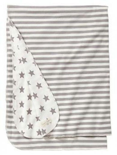 Gap reversible star blanket, grey