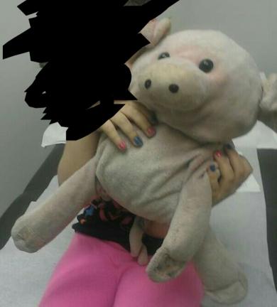 Hugger pig