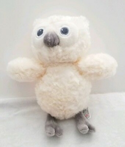 "Ivory Cream/Gray Owl - Baby Gund #4051234 (about 6-9"" tall)"