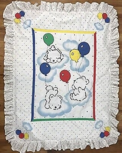 Carter's Balloon Bear Comforter