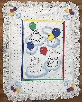 Carter's Balloon Bear Comforter