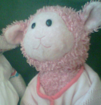 Lost Yellow Blonde Jellycat Dog Puppy Lost Pink