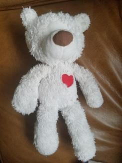 "9/"" TEDDY BEAR soft comforter toy PINK APRON CUPCAKE YUMMY MUMMY MOTHER NEW 18+"