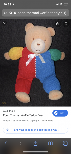Searching For Blue Baby Blanketlight Purple Bear With
